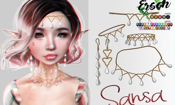 Sansa Jewelry. L$125.