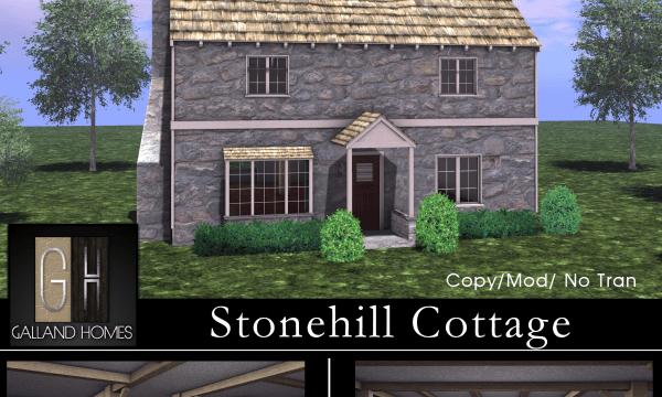 Stonehill Cottage. L$695. 🎁