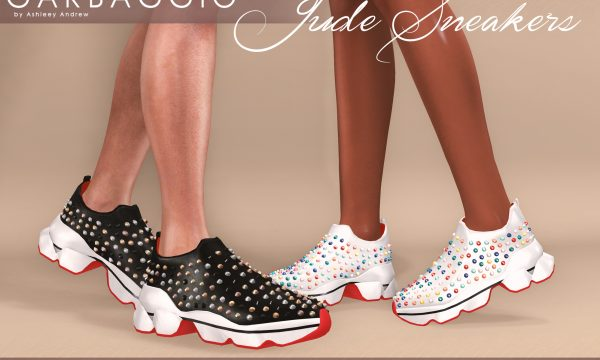 Jude Sneakers. L$99 each / Mini Packs are L$299 each / Fatpack is L$499. ★ 🎁