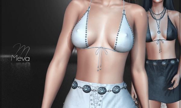 Paisley Skirt & Bra. Bra is L$340 / Skirt is L$380. ★ 🎁
