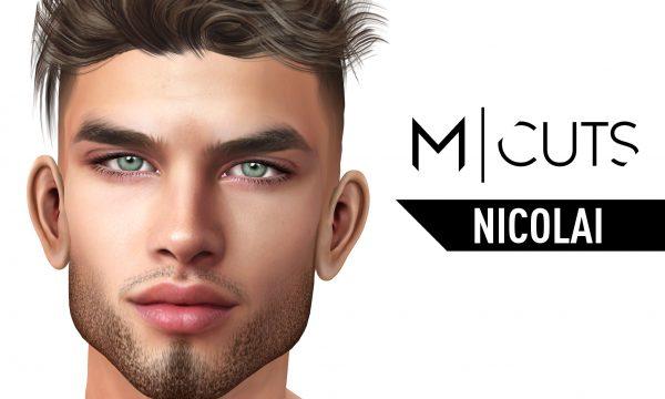 Nicolai Hair. L$320 per pack / Fatpack is L$1,020. ★ 🎁