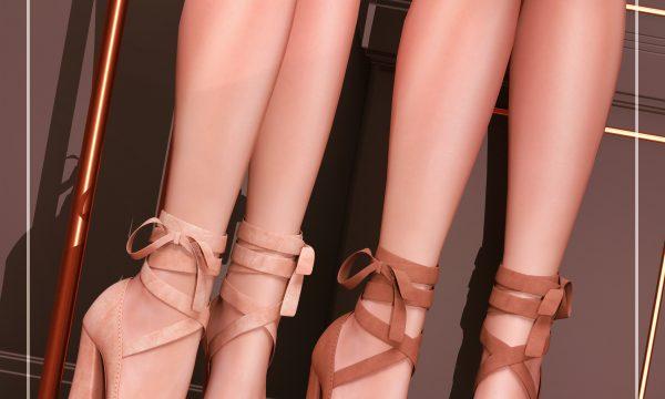 So Min Heels. L$250 each / Mini Packs are L$400 each / Fatpack is L$1,500. ★ 🎁
