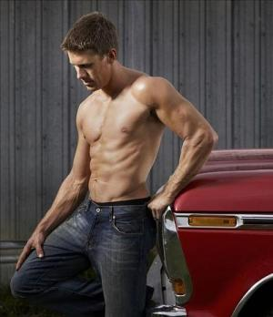 Carl Edwards Shirtless NASCAR Driver: Hot Body, Sexy ...