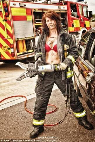Real Female Firefighters Calendar Buy One On EBay