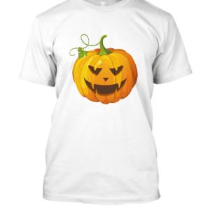 Halloween Inspired Spooky Pumpkin T Shirt