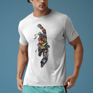 Arcade Classic inspired Dragon Punch T Shirt