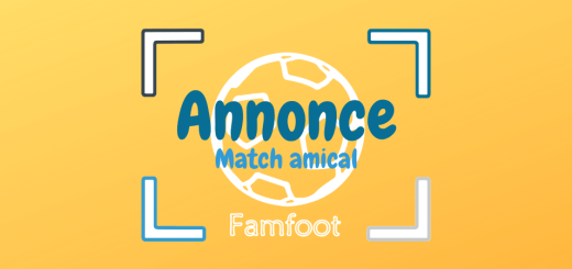 annonce - match amical