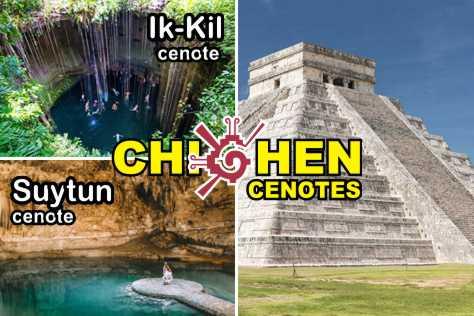 chichen itza cenotes cancun 105 mini Familia Díaz Galindo