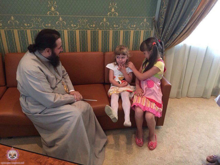 Cînd copiii iubesc părinții și părinții iubesc copiii, atunci atmosfera de dragoste îl aduce pe Dumnezeu !
