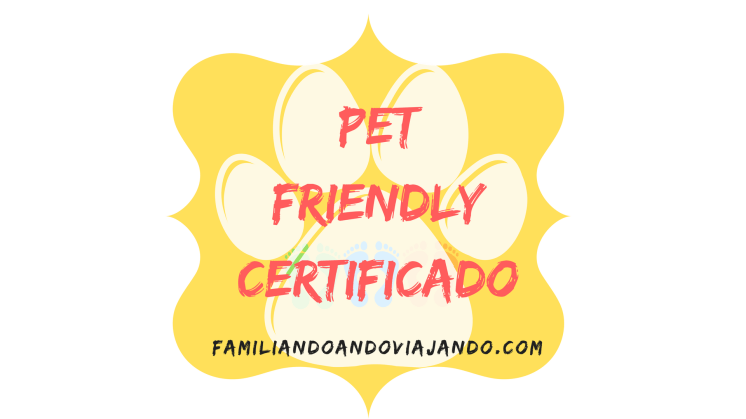 Certificado Pet Friendly