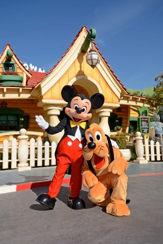 Mickey's Toontown (Photo-pass Disney)