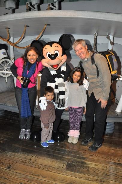Encontro com Mickey