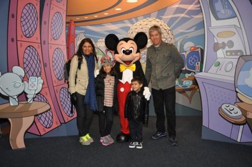 Encontro com Mickey!