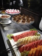 Buffet de sobremesas do Kess