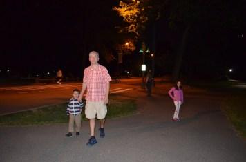 Noite no Central Park