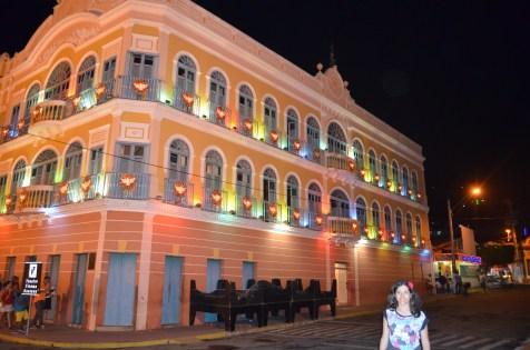 Cine Theatro Guarany à noite