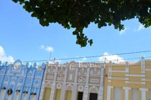 Casarios coloridos e preservados