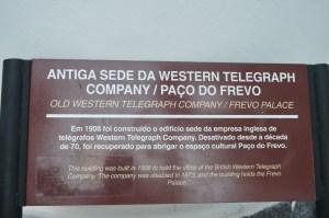 Antiga sede de uma companhia de telégrafos