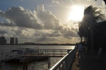 Apreciando o pôr do sol