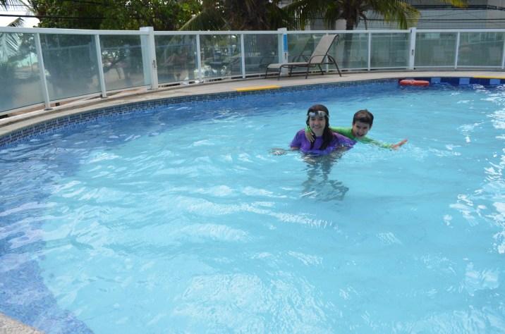 Festa na piscina