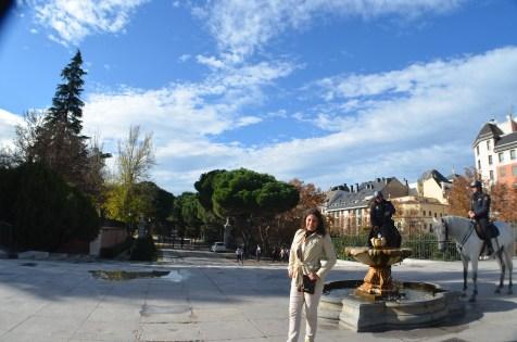 Entorno do Palacio Real