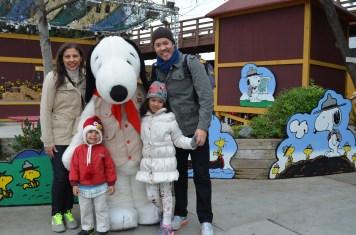 Encontro com Snoopy