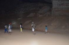 Trilha na gruta