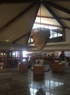 Arte e cultura na recepção do Garden Hotel