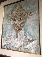 Homem com chapéu, 1945 (óleo s/ tela)