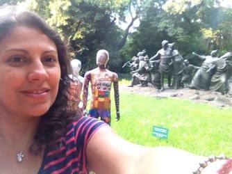 No Jardim Botânico de Buenos Aires