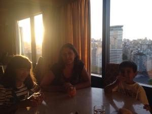 Buenos Aires com crianças - Pôr do sol às 20h