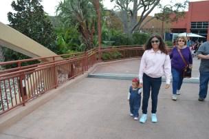 Disney Springs com a priminha