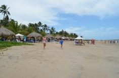 Estrutura na praia