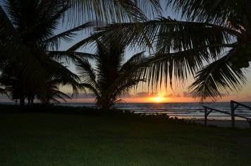 O nascer do dia em Serrambi