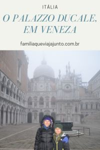 O Palazzo Ducale em Veneza