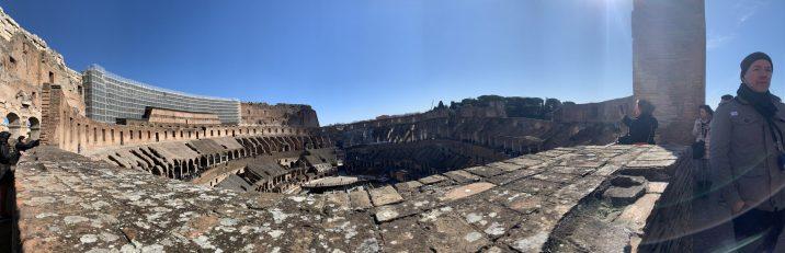 Anel superior do Coliseu