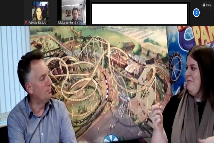 Nossa participação na press trip virtual do Paultons Park