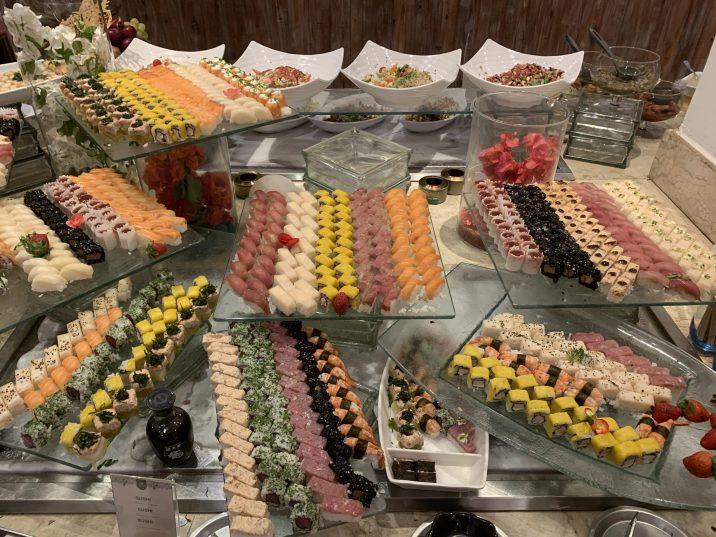 Buffet de Natal do Agdá-comida japonesa