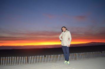 Pôr do sol em Bolsa Chica State Beach