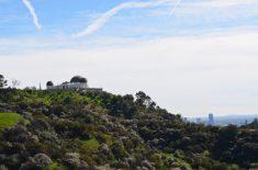 Griffith Park, o observatório no alto