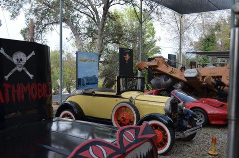 Coleção de carros de filmes