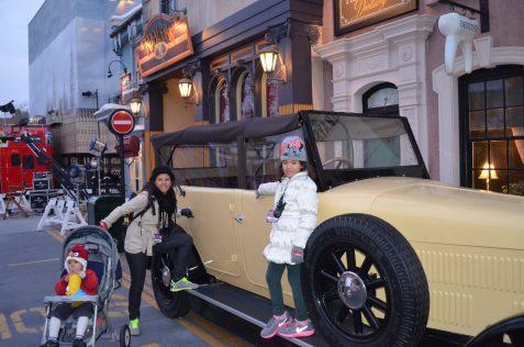 Carros de verdade no Universal Studios Hollywood