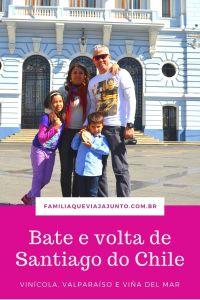 Bate e volta de Santiago do Chile