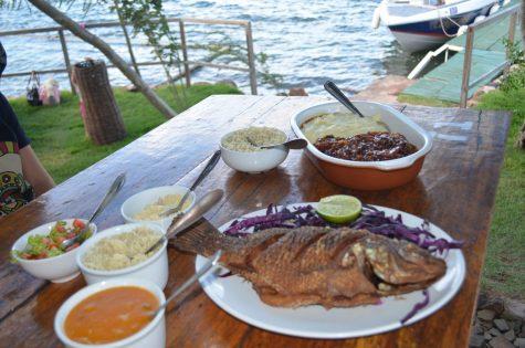No restaurante Castanho