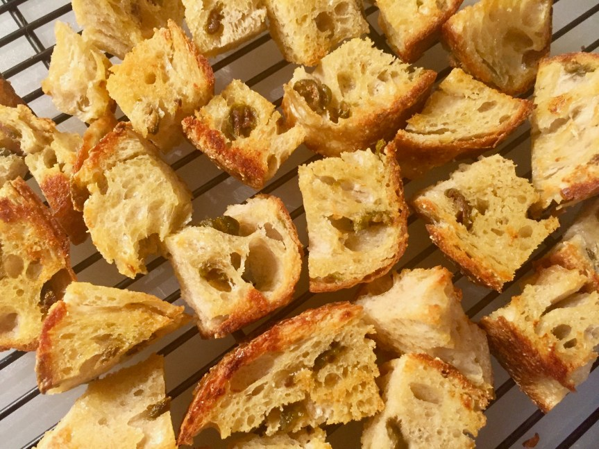 Garlic Infused Croutons