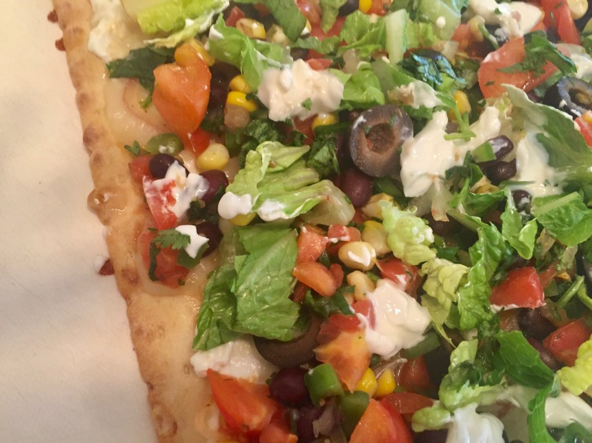 Southwest Lavash (Flatbread) Pizza