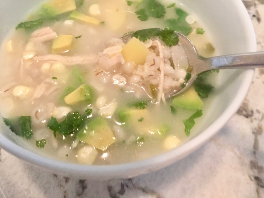 Chicken Barley Corn Soup
