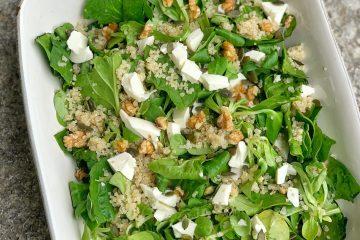 Ensalada de Quinoa y queso fresco