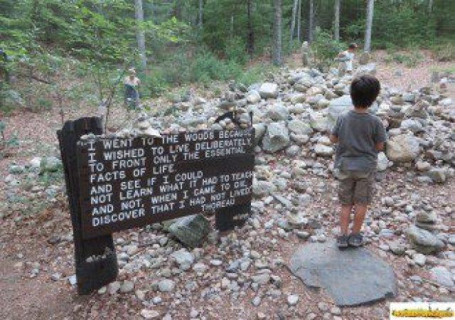 """""""Walden Pond"""" lugar para pensadores y amantes de la vida"""