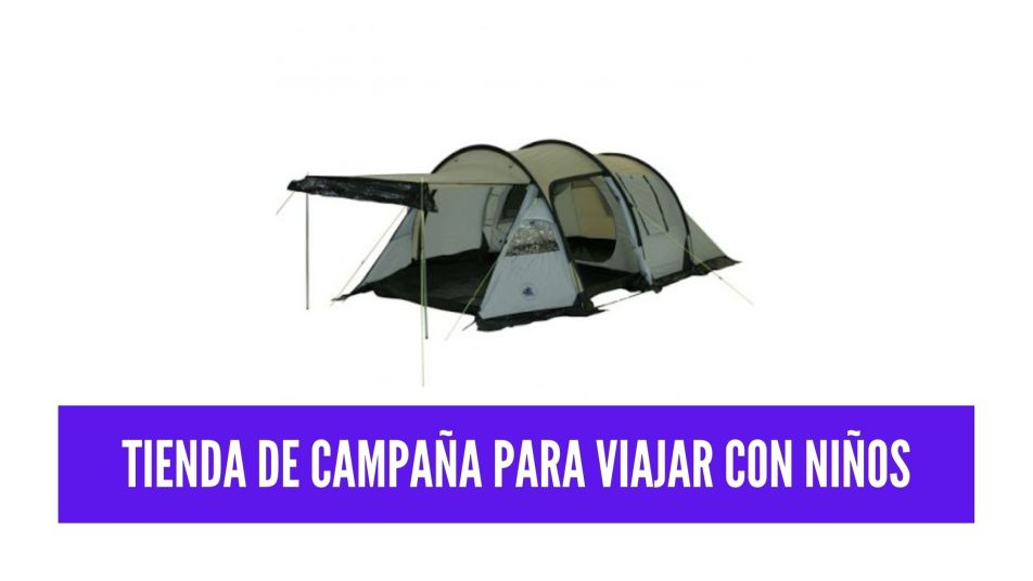 tienda de campaña para viajar